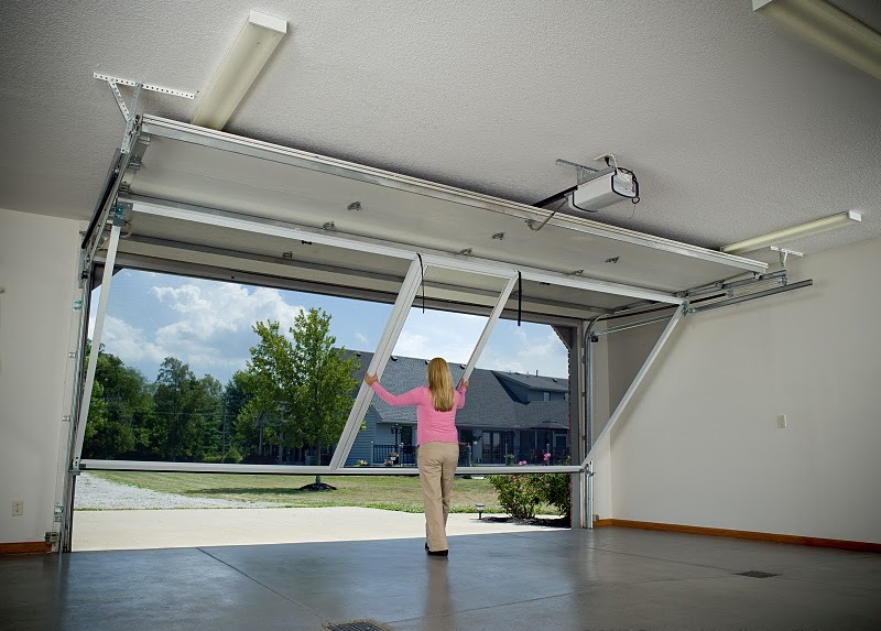 Dayton Lifestyle Garage Screens